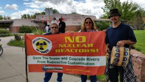 Greenaction members from Blythe, California at Moab, Utah action April 25, 2015
